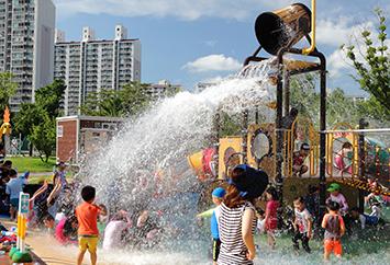 조외자(즐거운 함지공원 물놀이장)